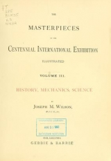 """Cover of """"The masterpieces of the Centennial international exhibition illustrated"""""""