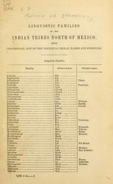 """Cover of """"[Miscellaneous papers relating to American Indian languages]"""""""