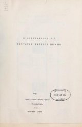Cover of Miscellaneous U.S. elevator patents
