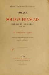 Cover of Mission d'exploration du Haut-Niger