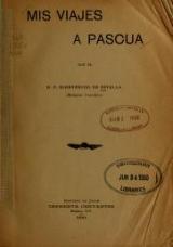 Cover of Mis viajes a Pascua