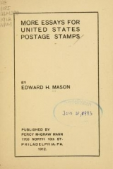 Cover of More essays for United States postage stamps