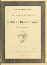 Cover of Motifs de broderie copte