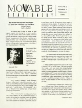 Cover of Movable stationery