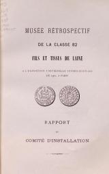 Cover of Musée rétrospectif de la classe 82