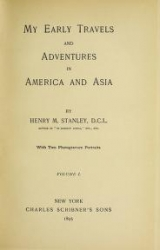 Cover of My early travels and adventures in America and Asia