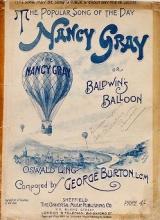 Cover of Nancy Gray, or, Baldwin's balloon