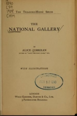 Cover of The National Gallery