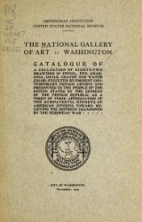 Cover of The National Gallery of Art, Washington