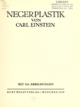 Cover of Negerplastik