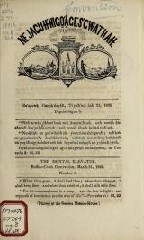 Cover of Ne jagutn'bugi'ages'gwathah = no.8 (1845:Mar.21)