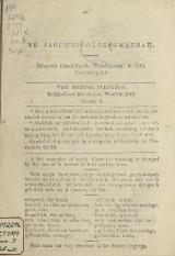 Cover of Ne jagutn'bugi'ages'gwathah = no.3 (1842:Mar.2)