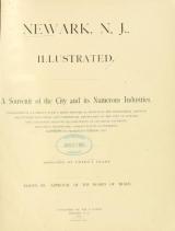Cover of Newark, N. J. illustrated