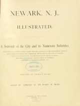 Cover of Newark, N. J. illustrated