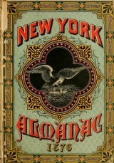 """Cover of """"The New-York almanac for 1876 /"""""""