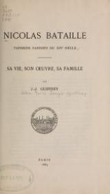 Cover of Nicolas Bataille, tapissier parisien du XIVe siècle