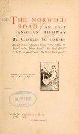 Cover of The Norwich road
