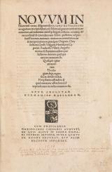 Cover of Nouum Instrumentū omne