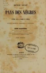 Cover of Nouveau voyage dans le pays des nègres