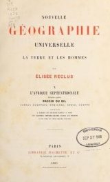 "Cover of ""Nouvelle géographie universelle"""