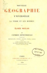 Cover of Nouvelle géographie universelle