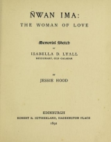 Cover of Ñwan Ima, the woman of love