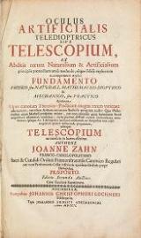 Cover of Oculus artificialis teledioptricus sive telescopium