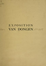 Cover of Oeuvres nouvelles de van Dongen