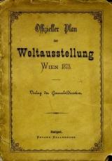 Cover of Offizieller Plan der Weltausstellung 1873, Wien