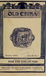 Cover of Old china