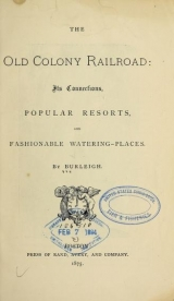 Cover of The Old Colony railroad