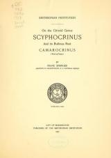 Cover of On the crinoid genus Scyphocrinus and its bulbous root Camarocrinus