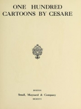 Cover of One hundred cartoons