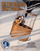 "Cover of ""On our balloon honeymoon"""