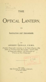 Cover of The optical lantern