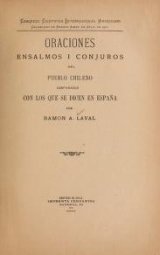 Cover of Oraciones