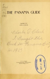 Cover of The Panama guide
