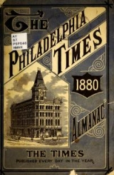Cover of The Philadelphia times Almanac