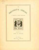 Cover of The philatelical library