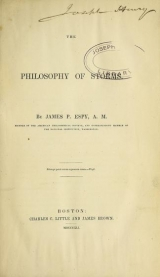 Cover of The philosophy of storms Joseph Henry Collection
