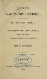 Cover of Philp's Washington described