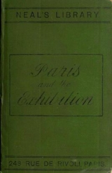 Cover of A Pictorial and descriptive guide to Paris and the Exhibition