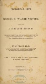 Cover of Pictorial life of George Washington