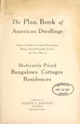 Cover of The plan book of American dwellings