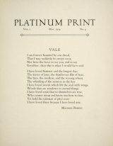 Cover of Platinum print