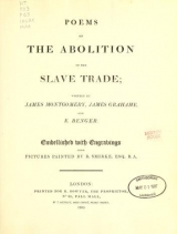 Cover of Poems on the abolition of the slave trade