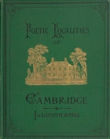 Cover of Poetic localities of Cambridge