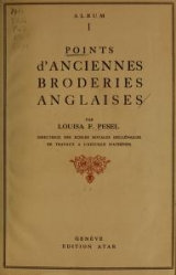 "Cover of ""Points d'anciennes broderies anglaises /"""