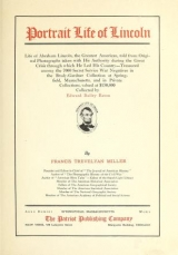 Cover of Portrait life of Lincoln