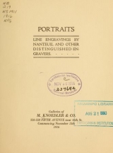 Cover of Portraits